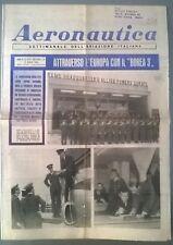 AERONAUTICA SETT.LE N.33-34 DEL 13/08/66 ATTRAVERSO L'EUROPA CON IL BOREA 3 -231