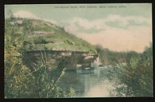 1909 Postcard Steamboat Rock at New Oregon near Cresco Ia Iowa B4296