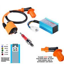 High Performance Racing Ignition Coil+Spark Plug+AC CDI For GY6 50 125 160cc ATV