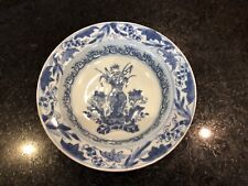 Antique Chinese 18th Century Kangxi Plate Blue & White