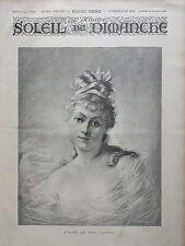 L'ILLUSTRE DU SOLEIL DU DIMANCHE 1895 N 47 AVANT LE BAL, D'APRES REYZNER