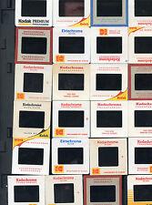 TWO HUNDRED MIXED KODAK 35mm SLIDES TAKEN BY AMATEUR PHOTOGRAPHERS 1950's-1980;s