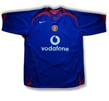 Manchester United 2005 2006 Away Football Soccer Jersey Shirt Nike Kit Vodafone