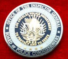 LAPD OFFICE OF THE INSPECTOR GENERAL CHALLENGE COIN (CHP FBI NYPD