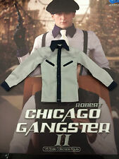 DID Dragon in Dreams Robert Chicago Gangster II Light Grey Shirt 1/6th scale