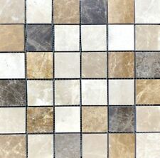 EXPRESSO POLISHED MARBLE   Mosaic Wall & Floor Tiles