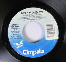 Rock 45 Huey Lewis And The News - Doing It All For My Baby / Naturally On Chrysa