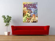 Monkey Island gioco per computer pc Retrò Gigante art print poster pannello nor0045