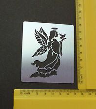 INOX / acciaio / Stencil / oblunghi / ANGEL / Colomba / BIRD / pace / Sbalza / NUOVO