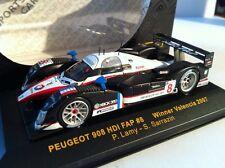 1 43 Ixo Peugeot 908 HDI FAP Winner Valencia Lamy/sarrazin 2007