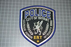 City Of Bryant Arkansas Police ERT Patch (B17-9)