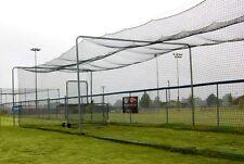 ProCage™ Batting Tunnel Net #42 70x24x12ft high w/divider net