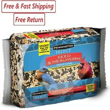 Pennington Seed & Mealworm Treat Cake, Wild Bird Feed, 1.4 lb.