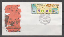 Philippine Stamps 1995 WWII Nasugbu & Tagaytay Landings 50th Anni of WWII