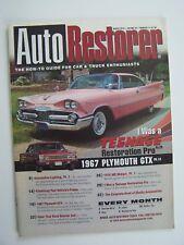 Auto Restorer Magazine March 2010 Vol 22 No 3 1967 Plymouth GTX Cover