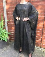 Zwart Abaya jurk kleding 1 maat