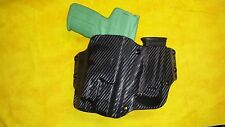 HOLSTER SET W/EXTRA MAG and TLR1 BLK KYDEX FITS FN 5.7 USG W TRIPLE MAG HOLSTER