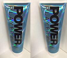 2 Power Player Dark Bronzer Indoor Tanning Bed Tan Lotion Devoted Creations 9 oz