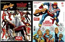 ALTER EGO No.75 CAPTAIN MARVEL Mac Raboy ROSS & No.76 JOE SIMON Captain America