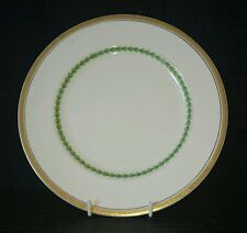 Alfred Meakin Gold Rimmed with Green Center Detailed Plate 20cm