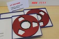 Tonbandspule 22 cm NAB Center , 1 Paar , Art-Nr. LT 220 NAB