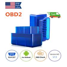 Auto OBD2 Code Reder Scanner Engine Check Car Diagnostic Tool Bluetooth ELM327