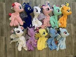 Build A Bear Plush My Little Pony Lot All New With Tags NWT Unstuffed