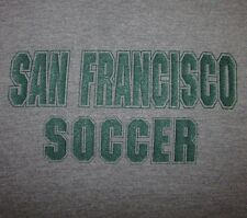 SAN FRANCISCO SOCCER - Men's (fits like) size S - Graphic T-Shirt