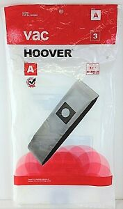 Hoover Style A Part No 304990001 Allergen Media Bags (2) in Opened Package