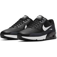 FREE SHIP! NEW Nike Air Max 90 G Golf Shoes Men's Size 8 Black White CU9978
