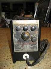 Transifier tube radio DC power supply with multiple voltage taps