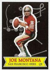 JOE MONTANA-QB HOF'ER GLOSSY SEND-IN 1984 TOPPS #13 OF 30 SET BREAK NM+MT