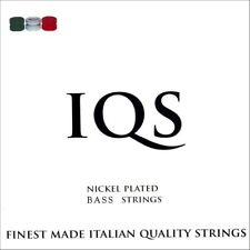 IQS NICKEL STEEL 5-STRING BASS 45-128 QUALITY ITALIAN STRINGS