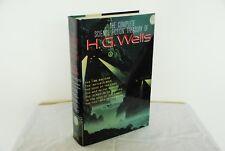 The Complete Science Fiction Treasury of H. G. Wells (1991 HC DJ LN/LN Omnibus)
