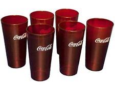 Coca-Cola (Lot of 42) Red 5220 Tumbler 20 oz. dishwasher safe, Carlisle