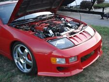 Fits Nissan 1990-1996 300ZX Coupe W type Urethane front bumper bodykit