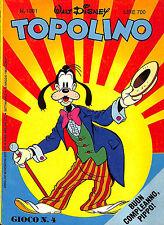 [887] TOPOLINO ed. Mondadori 1982 n.  1381 stato Ottimo