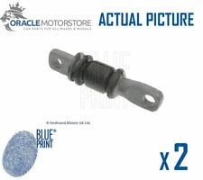 2 x NEW BLUE PRINT FRONT SUSPENSION ARM BUSH PAIR GENUINE OE QUALITY ADG080111