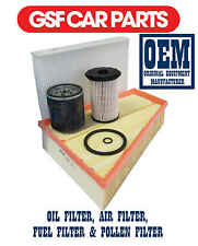 Service Kit Oil Air Fuel & Pollen Filters Replacement Ford Galaxy 1.8 Tdci