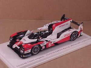SPARK #43LM20 1/43 Toyota TS050 Hybrid, Winner 2020 LeMans, Gazoo Racing. #8