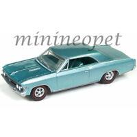 AUTOWORLD AWSP012 1966 CHEVROLET CHEVELLE SS 396 1/64 DIECAST CAR TURQUOISE