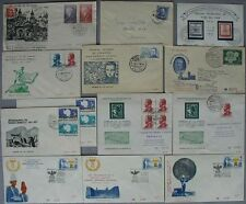 s800) Ersttagsbriefe Correos de Chile 92 FDC 1955 - 1987