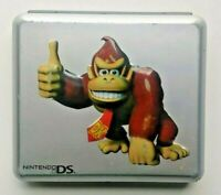 Donkey Kong DK Silver Protective Game Travel Case Holds  8 Games Nintendo DS