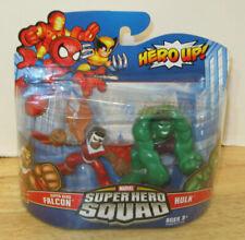 Marvel Super Hero Squad ~ Falcon & the Hulk 2 Pack ~ NIP VHTF Hasbro