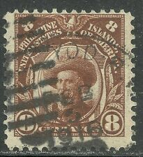 U.S. Possession Philippines stamp scott 244 or 264 - 8 cent Magellan issue