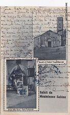 # MONTELEONE SABINO: SALUTI DA    1941