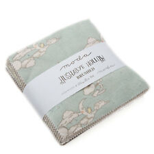 "CHARM PACK~HUSHABYE HOLLOW BRUSHED FLANNEL~42-5"" SQUARES~MODA~SOFT COTTON~49010"