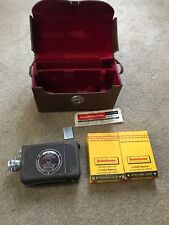 BELL & HOWELL 16MM Film Auto Load Camera With Case And Film!!