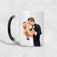 *NEW* Personalizza con la tua Foto Tazza Mug Magica Cambia colore con il calore