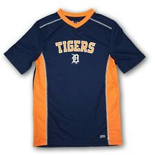 Detroit Tigers MLB Men's Blue/Orange Short Sleeve V-Neck Jersey New Without Tags